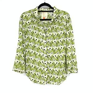 Conversations By Anthropologie Button Down Shirt